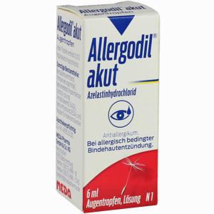 Abbildung von Allergodil Akut Augentropfen  6 ml