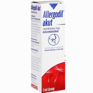 Abbildung von Allergodil Akut Nasenspray  5 ml