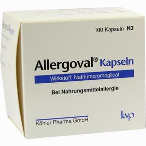 Abbildung von Allergoval Kapseln 100 Stück