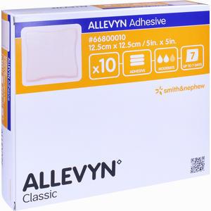 Abbildung von Allevyn Adhesive 12. 5x12. 5cm Haftende Wundauflage Ve 10 Stück