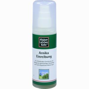 Abbildung von Allgäuer Latschenkiefer Arnika Einreibung Extra Stark Fluid 100 ml