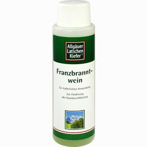 Abbildung von Allgäuer Latschenkiefer Franzbranntwein Extra Stark Lösung 250 ml