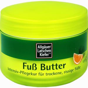 Abbildung von Allgäuer Latschenkiefer Fuß Butter Creme 200 ml