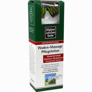 Abbildung von Allgäuer Latschenkiefer Waden- Massage Pflegelotion  100 ml