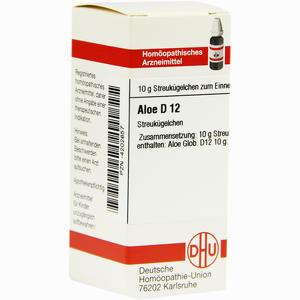 Abbildung von Aloe D12 Globuli 10 g