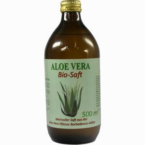 Abbildung von Aloe Vera Bio- Saft  500 ml