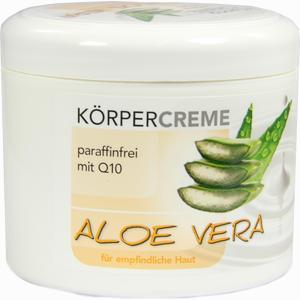 Abbildung von Aloe Vera Körpercreme mit Q10  500 ml