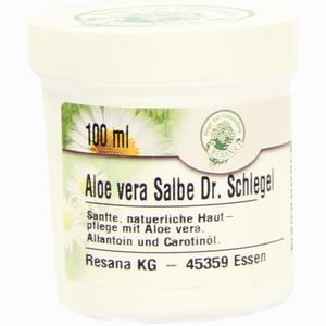 Abbildung von Aloe Vera Salbe Dr. Schlegel  100 ml