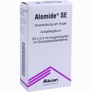Abbildung von Alomide Se Augentropfen 20 x 0.4 ml