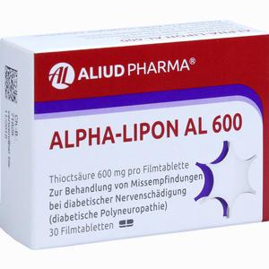 Abbildung von Alpha- Lipon Al 600 Filmtabletten 30 Stück