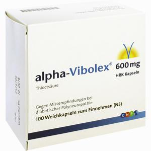 Abbildung von Alpha- Vibolex 600 Hrk Kapseln  100 Stück