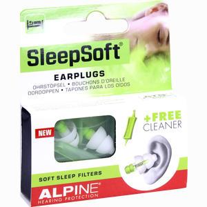 Abbildung von Alpine Sleepsoft Ohrstöpsel 2 Stück