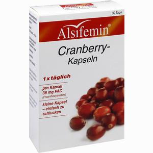 Abbildung von Alsifemin Cranberry- Kapseln 36mg Pac  30 Stück