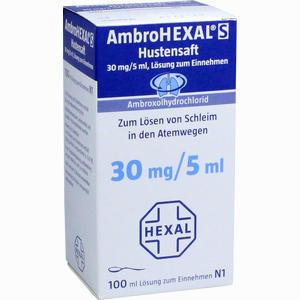 Abbildung von Ambrohexal S Saft  100 ml