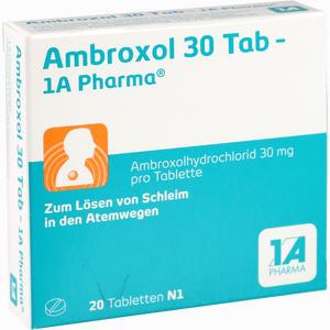 Abbildung von Ambroxol 30 Tab- 1a- Pharma Tabletten  20 Stück