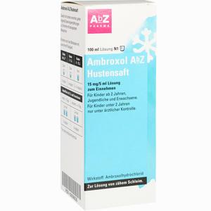 Abbildung von Ambroxol Abz Hustensaft  100 ml