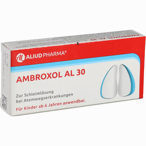 Abbildung von Ambroxol Al 30mg Tabletten  20 Stück