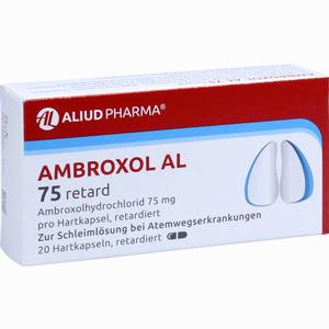 Abbildung von Ambroxol Al 75 Retard Retardkapseln 20 Stück