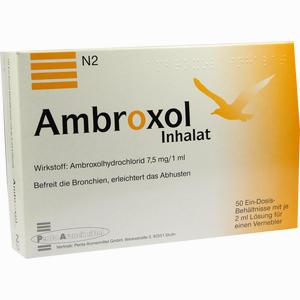 Abbildung von Ambroxol Inhalat Inhalationslösung 50 x 2 ml