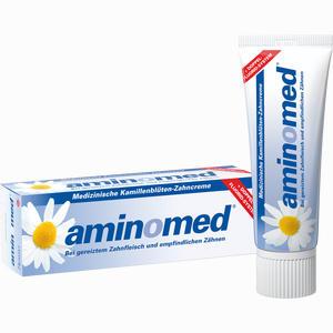 Abbildung von Amin- O- Med Fluorid Kamillen Zahncreme Zahnpasta 75 ml