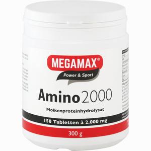 Abbildung von Amino 2000 Megamax Tabletten 150 Stück