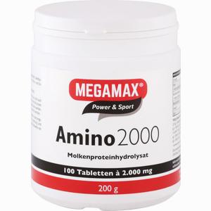 Abbildung von Amino 2000 Megamax Tabletten 100 Stück