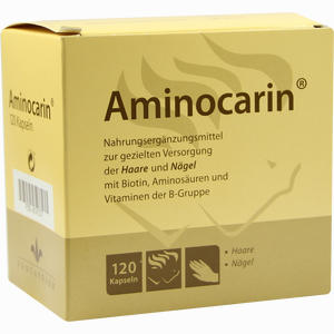 Abbildung von Aminocarin Kapseln  120 Stück
