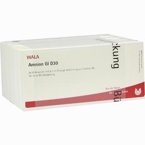 Abbildung von Amnion Gl D30 Ampullen 50 x 1 ml
