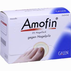 Abbildung von Amofin 5 % Nagellack 5 ml