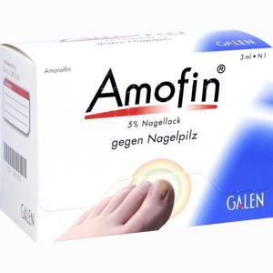 Abbildung von Amofin 5% Nagellack Naw 3 ml