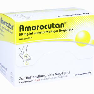 Abbildung von Amorocutan 50mg/ml Wirkstoffhaltiger Nagellack Lösung 3 ml