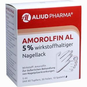 Abbildung von Amorolfin Al 5 % Wirkstoffhaltiger Nagellack Lösung 5 ml