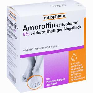 Abbildung von Amorolfin- Ratiopharm 5% Wirkstoffhaltiger Nagellack Lösung 5 ml