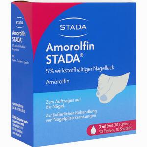 Abbildung von Amorolfin Stada 5% Wirkstoffhaltiger Nagellack Lösung 3 ml