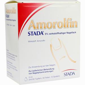 Abbildung von Amorolfin Stada 5% Wirkstoffhaltiger Nagellack Lösung 5 ml