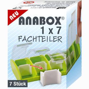 Abbildung von Anabox 1x7 Fachteiler 1 Stück