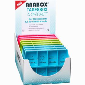 Abbildung von Anabox Compact Tagesbox Bunt 1 Stück