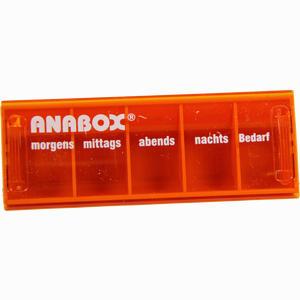 Abbildung von Anabox- Tagesbox Orange 1 Stück
