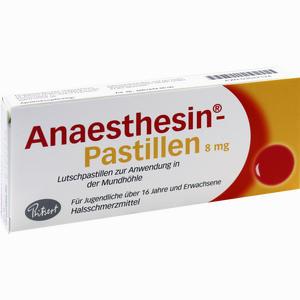 Abbildung von Anaesthesin Pastillen  20 Stück