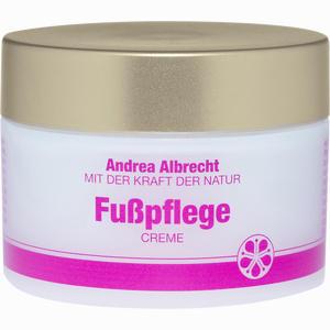Abbildung von Andrea Albrecht Fußpflegecreme 50 ml