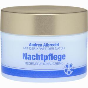 Abbildung von Andrea Albrecht Nachtpflegecreme M.vitamin E+b Nachtcreme 50 ml