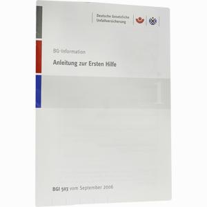 Abbildung von Anleitung zur Ersten Hilfe 1 Stück