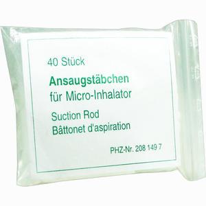 Abbildung von Ansaugstäbchen für Micro- Inhalator 40 Stück