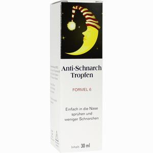Abbildung von Anti- Schnarch- Tropfen Formel 6  30 ml