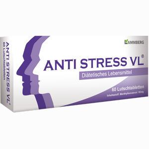 Abbildung von Anti Stress Vl Lutschtabletten  60 Stück