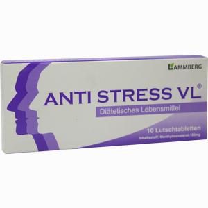 Abbildung von Anti Stress Vl Lutschtabletten 10 Stück