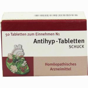 Abbildung von Antihyp- Tabletten Schuck  50 Stück