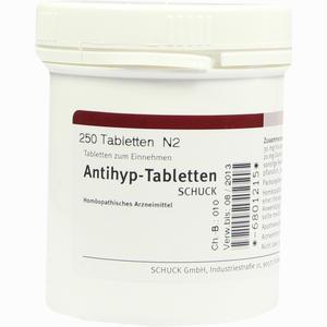 Abbildung von Antihyp- Tabletten Schuck  250 Stück