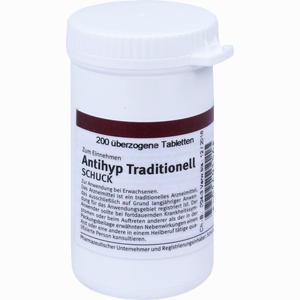 Abbildung von Antihyp Traditionell Schuck Tabletten 200 Stück