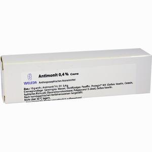 Abbildung von Antimonit 0.4% Creme 25 g